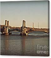 Pelham Bridge Canvas Print