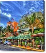 Pelican Hotel Canvas Print