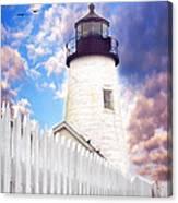 Pemaquid Point Canvas Print