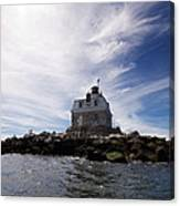 Penfield Reef Lighthouse Canvas Print