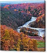 Pennsylvania Color Canvas Print