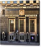 Pennsylvania Railroad Suburban Station Canvas Print
