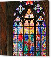 Pentecost Window - St. Vitus Cathedral Prague Canvas Print
