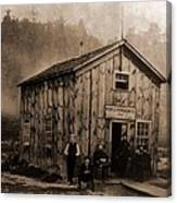 Peoples Petroleum Co., In 1865. With Canvas Print
