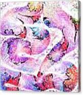 Peppermint Snake Canvas Print