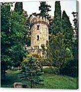 Pepperpot Tower At Powerscourt Canvas Print