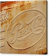 Pepsi Cola Remembered Canvas Print