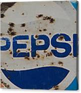 Pepsi Old Style Canvas Print