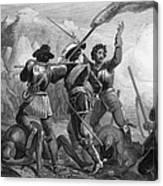 Pequot War, 1636-3 Canvas Print