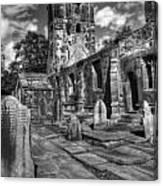 Perditit Ecclesia Tres Canvas Print