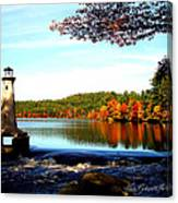 Perfect At Lake Potanipo Canvas Print