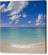 Perfect Beach Day With Blue Skies Canvas Print