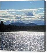 Perfect Day On The Lake Canvas Print