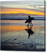 Perfect Day's End Canvas Print
