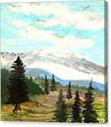 Perfect Pines Peak Canvas Print