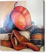 Perol Sobre Kepi Canvas Print