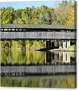 Perrine's Covered Bridge Canvas Print