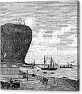 Peru: Arica, 1880 Canvas Print
