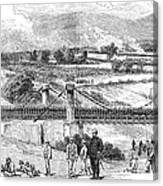 Peru: Chilean Army, 1881 Canvas Print