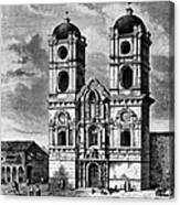 Peru: Jesuit Church, 1869 Canvas Print