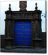 Peruvian Door Decor 12 Canvas Print