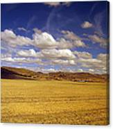 Peruvian High Plains 2 Canvas Print