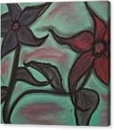 Petal Me Softly Darling Canvas Print