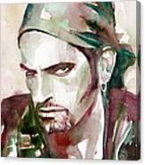 Peter Steele Portrait.6 Canvas Print
