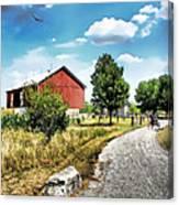 Peter Stuckey Farm Canvas Print