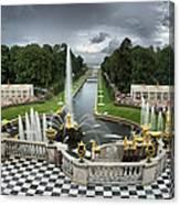Peterhof Palace 16x9 Canvas Print