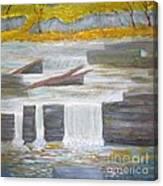Pete's Dam Canvas Print