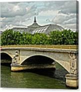 Petit Palace Paris France Canvas Print