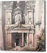 Petra Jordan Canvas Print