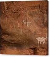 Petrogylph II Canvas Print