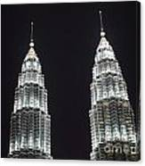 Petronas Tower Top Detail Canvas Print