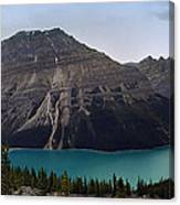 Peyto Lake - Canadian Rocky Mountains Canvas Print