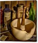 Pharmacist Tools Canvas Print