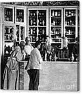 Pharmacy C. 1900 Canvas Print