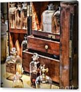 Pharmacy - Medicine Cabinet Canvas Print