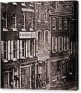 Philadelphia 1843 Canvas Print