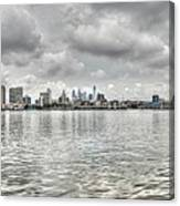 Philadelphia Across The Water Canvas Print