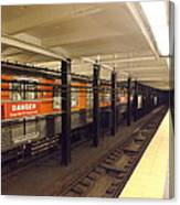 Philadelphia Broadstreet Subway Canvas Print