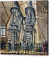 Philadelphia Expo: Engine Canvas Print