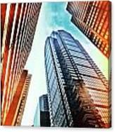 Philadelphia Gotham Canvas Print