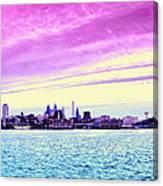 Philadelphia Morning View Canvas Print