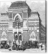 Philadelphia: Museum, 1876 Canvas Print
