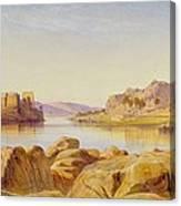 Philae - Egypt Canvas Print