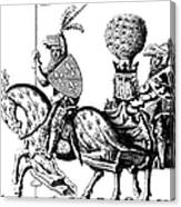 Philip II & Richard I Canvas Print
