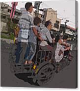 Philippines 5534 Pamilya Canvas Print