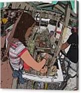 Philippines 91 Street Food Canvas Print